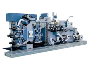 Rotary Label Printing Press