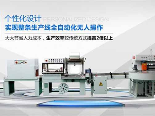 Automatic Slitter Rewinder Packing Equipment Line